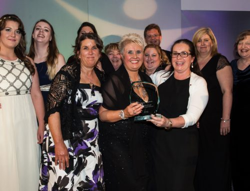 Triumph at the regions Care Awards