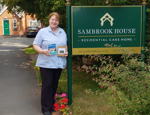 Sambrook House Carer wins national 'unsung hero' award
